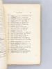 Collection Dentu. Autographes. Tome IIIe Fascicules II, III et IV Série IX et X : Fonctionnaires, clergé, magistrature et barreau, aristocratie & ...