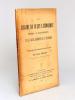 Le Régime du Culte catholique antérieur à la Loi de Séparation et les Causes juridiques de la Séparation [ Livre dédicacé par l'auteur à Roger Bonnard ...
