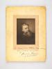 """Portrait de Raoul Pugno avec dédicace autographe : """"A Monsieur Félix Michel, En cordial Souvenir de Raoul Pugno, 9 mars 1908"""". PUGNO, Raoul"""