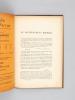 """Du Gouvernement Moderne. Publié par M. le vicomte Spoelberch de Lovenjoul [ Edition originale ] (Extrait de """"La Grande Revue"""", 4e année, n°1 1er ..."""