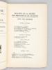 Bulletin de la Société des Bibliophiles de Guyenne [ Série continue des 28 premières livraisons, du 1er trimestre 1931 au 4e trimestre 1937 - ...