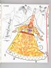 Album-Maquette Volupli. (Lot de 4 numéros) Costumes civils, militaires, régionaux ; tous les pays et tous les temps. N° 5 : France Xve siècle : Dame ...