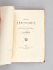 Moeurs Béarnaises 1335 à 1550. Renseignement singuliers Extraits des Minutes des Notaires du Département des Basses-Pyrénées. [ Edition originale ]. ...