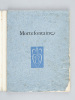 Mortefontaine [ Livre dédicacé par l'illustrateur ] . CARCO, Francis ; DARAGNES, Jean-Gabriel