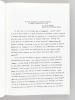 """Colloque International : """"Zola et l'Esprit Républicain"""" Limoges 21-22-23 Juin [ 1979 ]. Colloque associé du C.N.R.S.. Collectif ; MITTERRAND, H."""