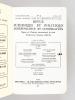 Revue Juridique et Politique Indépendance et Coopération. Congrès de l'Institut International de Droit d'Expression Française (I.D.E.F.) à tenu à ...