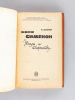[ Lot de 3 titres de Simenon en éditions soviétiques et biographie de Georges Simenon en russe ] [ Livres dédicacés par Eléonore Schraiber ] Maigret ...