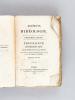 Elémens d'Idéologie (Parties I, II et III) Première Partie ; Idéologie proprement dite par M. Destutt Comte de Tracy ; Seconde Partie : Grammaire ; ...