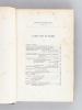 Société de Géographie Commerciale de Bordeaux. Bulletin. Deuxième Série. Cinquième Année : 1879 [ Edition originale ] [ Contient notamment : ]  ...