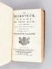 Spartacus, Tragédie, Représentée pour la première fois par les Comédiens Français ordinaires du Roi, le 20 Février 1760 [ Avec : ]  Rhadamiste et ...