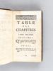 Avantures de Don Antonio de Buffalis. Histoire Italienne. [ Edition originale ]. Anonyme  ; [ LA BARRE DE BEAUMARCHAIS, Antoine ]