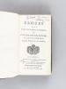 Eloges lus dans les séances publiques de l'Académie Françoise par M. d'Alembert [ Edition originale ] [ Contient : ] Eloges de Massillon, Boileau ...