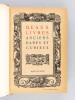 Catalogue de Beaux Livres Anciens Rares et Curieux composant la Bibliothèque de M. Edouard Moura. LEFRANCOIS, Francisque ; MOUNASTRE-PICAMILH