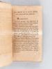 Essai sur l'Oeuvre des Savoyards, ou Recueil de quelques Renseignemens et de quelques Traits propres à faire connaître et apprécier l'Oeuvre des ...