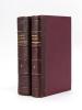 Journal de Marie Bashkirtseff ( 2 Tomes - Complet) [ Edition originale ]. BASHKIRTSEFF, Marie