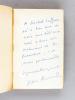 Pièces Anouilh [ Avec un billet autographe signé de Jean Anouilh ]. ANOUILH, Jean