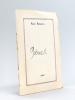Poèmes [ Exemplaire manuscrit unique réalisé pour le Docteur Suffran - Fait à Talence au printemps 1969 ]. ROUGERIE, René
