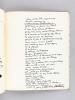 Le Calendrier Belluaire [ Edition originale - Livre dédicacé par l'auteur ]. ROUGERIE, René