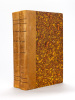 L'Intendant Tourny (1695 - 1760)  (2 Tomes - Complet).. LHERITIER, Michel