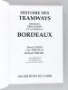 Histoire des Tramways, Omnibus, Trolleybus et Autobus à Bordeaux. L'HOST, Hervé ; TRECOLLE, Guy ; VERGER, Richard