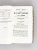 Statistique Générale des Départemens Pyrénéens, ou des Provinces de Guienne et de Languedoc (2 Tomes - Complet) [ Edition originale ]. DU MEGE, ...