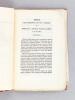 Notice sur l'Expédition qui s'est terminée par la prise de la Smahla d'Abd-el-Kader le 16 mai 1843 [ Edition originale ]. Anonyme ;  ( D'AUMALE, Duc )