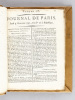 Journal de Paris [ Du numéro 275 du 1er octobre au numéro 301 du 31 octobre 1792 ] [  Journal de Paris National ] [ Edition originale ]. Collectif