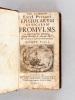 Epistolarum Atticarum Promulsis. In Centurias Tres distributa. Ad ordines Lucemburgicos. Epistolarum Pars I. ERYCIUS PUTEANUS ; [ DUPUY, Henri ; DE ...