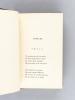 Rimes Familières [ Edition originale ] [ Avec : ] Fleurs Eparses [ Edition originale ]. SAINT-SAENS, Camille ; BIRAN, Elie de