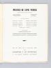 Prestige du Tapis Persan. Exposition organisée du 20 juin au 4 juillet 1960 à la Fondation S. de Rothschild. HELLEU ; POZZI ; DE LA FRESSANGE ; ...