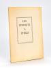 Les Sonnets à Philis [ Edition originale - Livre dédicacé par l'auteur ]. MUSELLI, Vincent