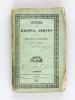 Dieppe en 1826, ou Lettres du Vicomte de *** à Milord *** [ Edition originale ] [ On joint : ] Promenades autour de Dieppe. Vallée d'Arques, le Bourg, ...