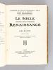 Le Siècle de la Renaissance.. BATIFFOL, Louis