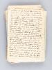 Belle correspondance personnelle et originale, adressée aux deux frères Charlemagne et Jean Bart par leur frère Léo Bart, du 4 janvier 1915 au 21 août ...