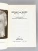 Henri Sauguet. L'Homme et l'Oeuvre. [ Livre dédicacé par l'auteur ] . SAUGUET, Henri ; ANCELIN, Pierre