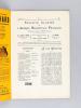 Bulletin Illustré de l'Afrique Occidentale Française. N° 1 - Mai 1910. AOF Sénégal - Côte d'Ivoire - Mauritanie - Dahomey - Haut-Sénégal - Niger - ...