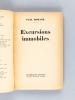 Excursions Immobiles [ Livre dédicacé par l'auteur ]. MORAND, Paul