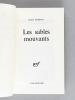 Les Sables Mouvants [ Livre dédicacé par l'auteur ]. FORTON, Jean