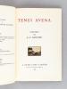 Tenui Avena [ Livre dédicacé par l'auteur ]. GARNIER, Auguste-Pierre