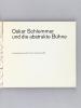 Ausstellung Oskar Schlemmer und die abstrakte Bühne. Leih-Katalog. Kunstgewerbemuseum Zürich [ Avec 18 photos jointes - With 18 pictures joined ]. ...