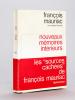 Nouveaux Mémoires Intérieurs. [Livre dédicacé par l'auteur ]. MAURIAC, François
