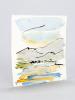 Aquarelle originale : Ainsa, Aragon, Rio Ara [Signé par l'auteur à Michel Suffran ]. FREOUR, Paul