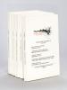 Ecritures Théâtrales Grand Sud Ouest (Volumes 1, 2, 3, 4 et 5). Collectif , FLORENSA, Jean Manuel ; GABISON-CRETENET, Martine ; HUGUET, MArwil ; ...