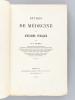 Etudes de Médecine et d'Hygiène publique [ Edition originale - Livre dédicacé par l'auteur ]. LEVIEUX, Dr.