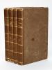 Les Trois Fabulistes, Esope, Phèdre et La Fontaine, par Chamfort et Gail (4 Tomes -Complet) I : Esope, grec et Latin, traduit en français par J.-B. ...