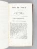 Voyage en Egypte et en Syrie, pendant les Années 1783, 1784 et 1785, suivi de Considérations sur la Guerre des Russes et des Turks, publiées en 1788 ...
