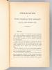 Géologie Agricole. Première partie du Cours d'agriculture comparée (4 Tomes - Complet). RISLER, Eugène