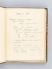 [ Manuscrit : Histoire militaire de la Guerre franco-allemande de 1870, avec cartes manuscrites en couleurs ]. Anonyme
