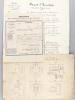 Brevet d'Invention accordé le 12 octobre 1858 à M. David Dietz, chef d'atelier au Chemins de Fer de l'Est, pour un système perfectionné de graissage à ...
