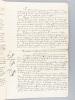 Brevet d'Invention accordé le 4 janvier 1876 à M. David Dietz, ingénieur civil, pour un système système de communication entre les agents d'un train ...